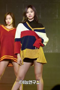 TWICE Tzuyu looks too flawless in her stage outfits — Koreaboo