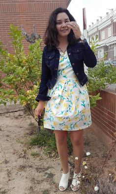 Look What I'm Wearing Today!!: Vestido Flores Lima