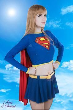 Supergirl ! by AgosAshford.deviantart.com on @DeviantArt - More at https://pinterest.com/supergirlsart/ #cosplay #girl