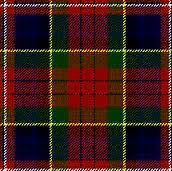 MacPherson tartan...one of my family lines is Carson, a sept of MacPherson