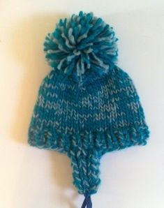 Winter Warrior Hat – Free Pattern, bulky wt yarn!