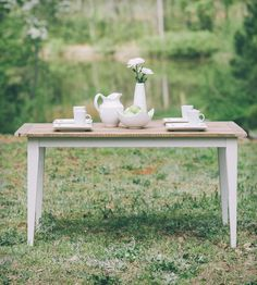 Hattie Reclaimed Hickory Dining Table
