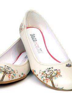 Dogo shoes Happy Tree Flats -- very cute!!!
