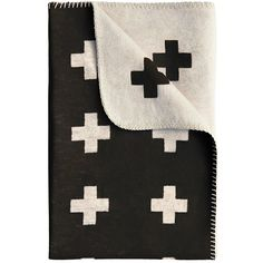 Cross Blanket from Pia Wallen