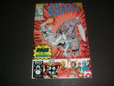 THE SILVER SURFER #54 2nd SERIES (1991 MARVEL) THE RAGE OF THE RHINO start the bid at $2.00 buy it now for $4.00+ ship!!