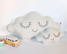 Image of Coussin nuage Tendre est la Nuit