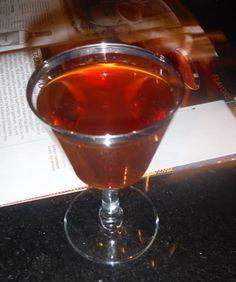Dare I Say? 1 oz Rye (Rittenhouse 100)  1/2 oz Fernet Branca  1/2 oz Sweet Vermouth (Cocchi)  1/2 oz Aperol  2 dash Rhubarb or Peychaud's Bitters  ...