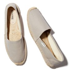 This is Soludos's signature espadrille and it's not hard to see why. Blessedly…
