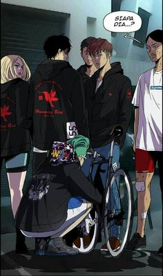 Wind Breaker, Webtoon, Manhwa, Geek Stuff, Bicycle, Illustration, Art, Tattoo Ideas, Drawings