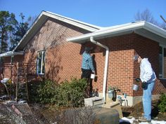 Q & A: How Can You Change Brick Color Without Painting It? http://www.mosbybuildingarts.com/blog/2013/11/14/q-a-how-can-you-change-brick-color/