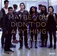 13 Reasons Why Quotes, Thirteen Reasons Why, Pretty Little Liars, Stranger Things, Movie Tv, Tv Series, Chill, Characters, Books