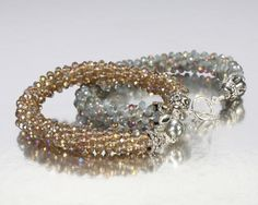 Kumihimo beaded bracelets. These are two of my faves.