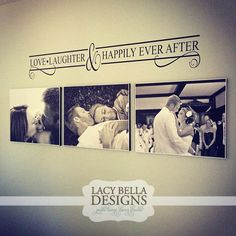 "Master Bedroom Design: ""Love and Laughter and Happily Ever After"" What a great koozie design! - https://www.kooziez.com/to-love-laughter-and-happily-ever-after/"