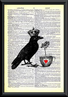 Brewing A Love Potion Vintage Dictionary  Page Art. $6,50, via Etsy.