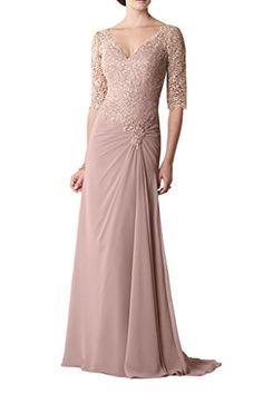 MILANO BRIDE Modest 1/2 Sleeves V-neck A-line Lace Mother... https://www.amazon.com/dp/B01CU3AW9I/ref=cm_sw_r_pi_dp_x_EFHNyb9YHCKJK