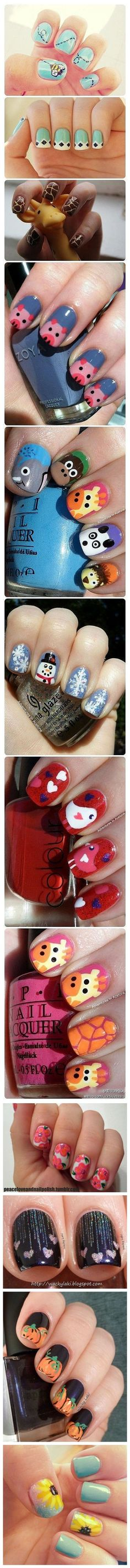866 best * SIMPLE Nail Art Design Ideas images on Pinterest | Nail ...