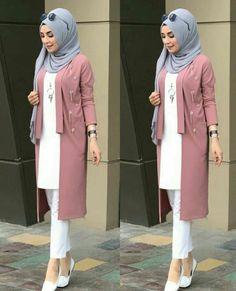 Hijab Style Dress, Hijab Outfit, Muslim Fashion, Hijab Fashion, Fashion Outfits, Hijabi Gowns, Mode Turban, Hijab Evening Dress, Hijab Style Tutorial