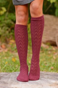 Lovely To Meet You Knit Boot Socks from Closet Candy Boutique #fashion #shop