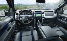 not just anyone can test drive a Ford high performance off-road F-150 Raptor truck !!!