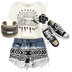 """""""black"""" by allieduncan on Polyvore"""
