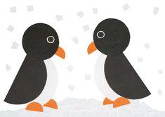 Pinguïn van cirkels