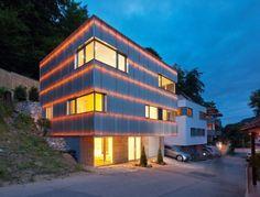 "Reflecting Cube by Helwig Haus + Raum Planungs GmbH ""Location: Weinheim, Germany"" 2012"