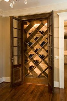 Small Wine Cellar Design Ideas, Pictures, Remodel, and Decor - page 12 #WineRoom