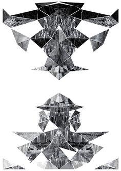 Shannon Finley   #Symmetry Deconstruction Fashion, Geometric Form, Brush Strokes, Photo Manipulation, Surrealism, Art Quotes, Sculptures, Digital Art, Objects