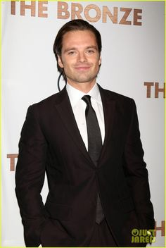 Sebastian Stan  At 'The Bronze' Premiere!