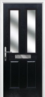 Composite door 2 panel 2 angle style affordable durable for Composite door design your own