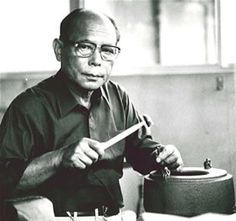 National Living Treasure of Japan as a casting metal artist, TAKAHSHI Keiten (1920-2009) 高橋敬典(人間国宝)