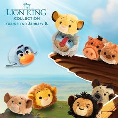 Lion King Roaring in for Tsum Tsum Tuesday on January 5, 2016