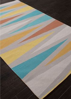 Jaipur Rugs Traditions Made Modern - Cotton Flat Woven Shards Rugs   Rugs Direct