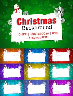 Christmas Background — Photoshop PSD #bokeh #green • Available here → https://graphicriver.net/item/christmas-background/9625878?ref=pxcr