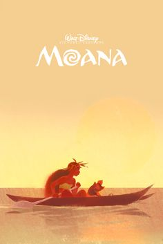 Art of Disney — Moana concept art as poster