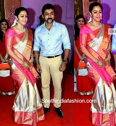 Surya and Jyothika at Radhikas Daughter Rayanes Wedding photo