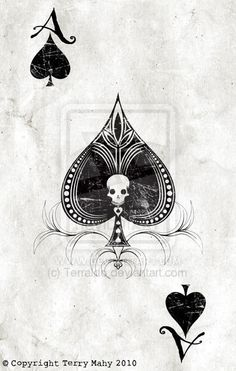 Ace of Spades - playing cards by Terraldo