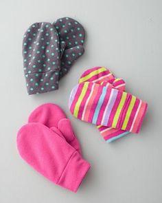 Microfleece Mittens - Baby Girls & Girls