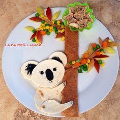 Koala Fun Food Lunch Sarah Gonzalez @lunarbell_lunch