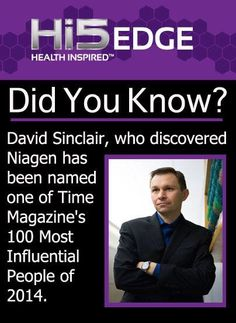 Niagen-The Miracle Molecule Enables the cells of your body to function at optimal levels.