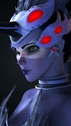 I love Overwatch characters, Widowmaker is one of my favorites and her Odette skin is wonderful. Fatale Overwatch, Overwatch Widowmaker, Overwatch Memes, Overwatch Fan Art, Video Game Art, Video Games, Cyberpunk, Overwatch Wallpapers, Veuve