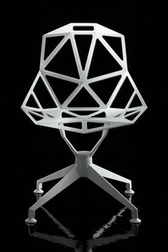 Contemporary swivel chair by Konstantin Grcic ONE MAGIS