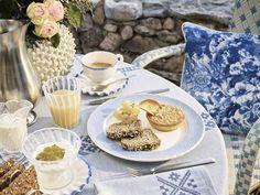 Decoração em azul e branco marca a nova coleção da Zara Home
