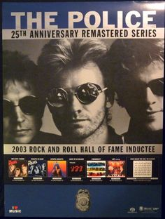 The Police  25th Anniversary  Rare Advertising Poster 18x24 -- Check this awesome product by going to the link at the image.Note:It is affiliate link to Amazon. #PosterPrint