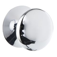 Door Knob Chrome Button 38mm