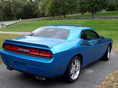 B5 Blue Challenger R/T Classic with quad tips