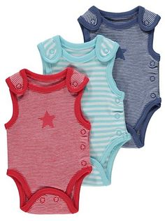 Premature Baby 3 Pack Bodysuits, read reviews and buy online at George. Shop from our latest range in Baby. Your precious little baby will look adorable in t...