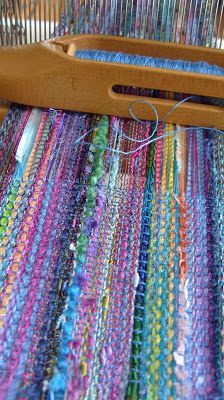 Wonderful variety of yarns - I want this to be my next personal project