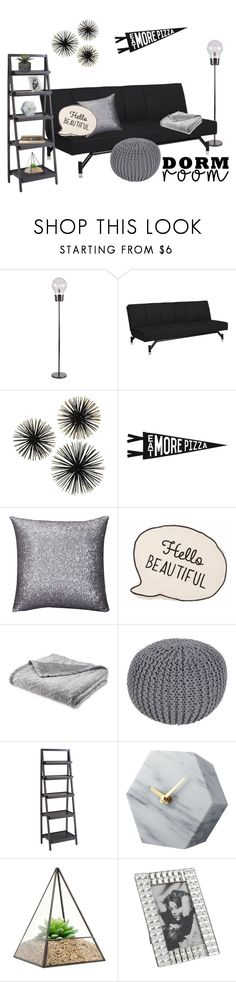 """Untitled #2232"" by momoheart ❤ liked on Polyvore featuring interior, interiors, interior design, home, home decor, interior decorating, Dorel, Three Potato Four, Surya and Pier 1 Imports"