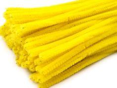 Chenilledraht / Pfeifenreiniger Ø6mm 100stück XXL-Packung je 30cm länge - verschiedene Farben wählbar (gelb) Unbekannt http://www.amazon.de/dp/B00GEJM5RM/ref=cm_sw_r_pi_dp_J50Cvb0TY2Y88